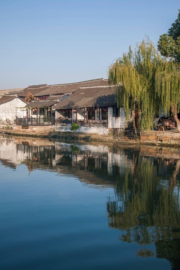 ----- 6 южных городков Xitang стоковые изображения rf