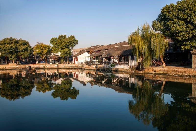 ----- 6 южных городков Xitang стоковые изображения