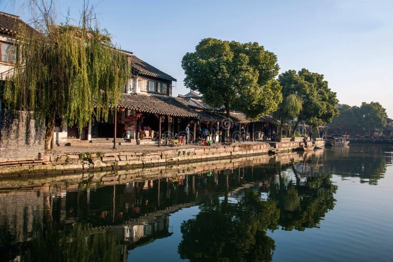 ----- 6 южных городков Xitang стоковое фото