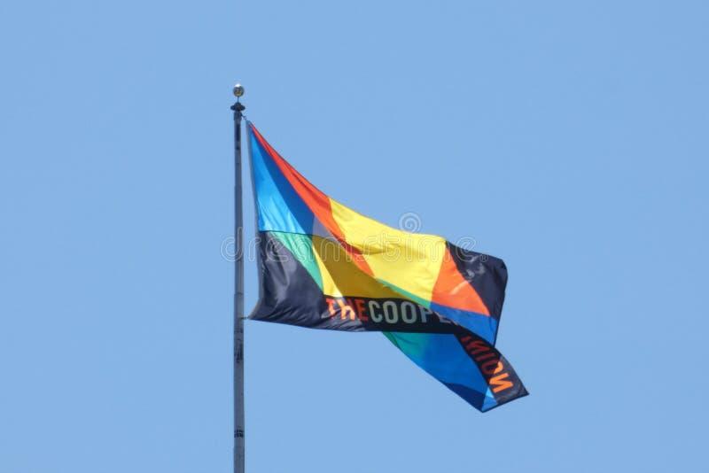 Юнион флаг бондаря стоковое фото rf