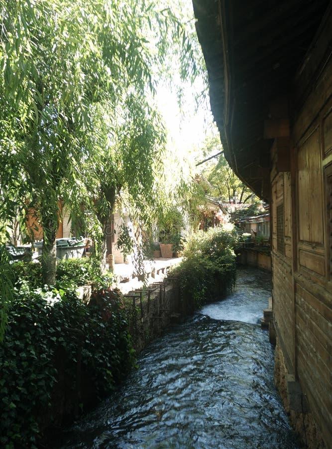 Юньнань, Китай, древний город Lijiang стоковое фото