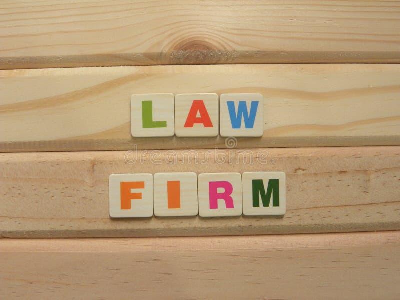 Юридическая фирма Word стоковое фото
