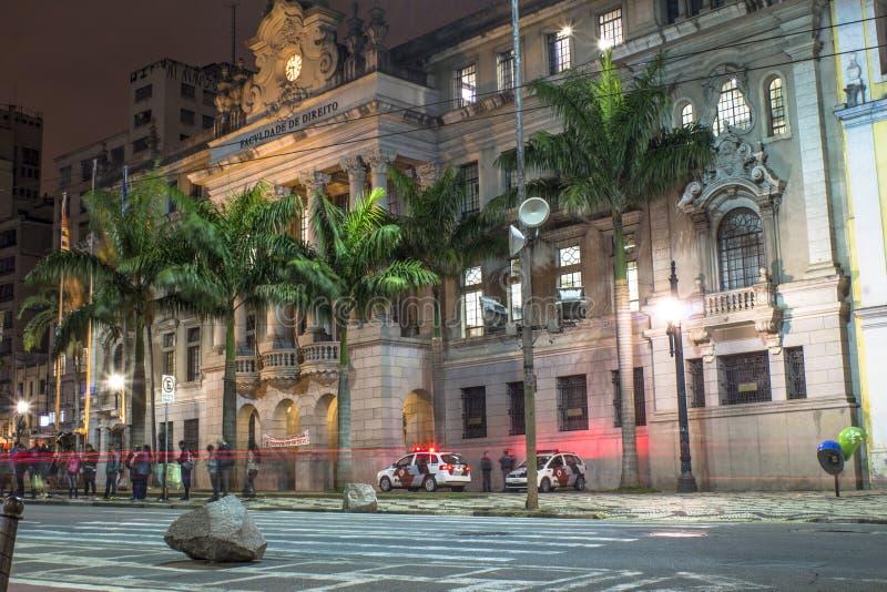Юридическое высшее учебное заведение Sao Francisco стоковые фото