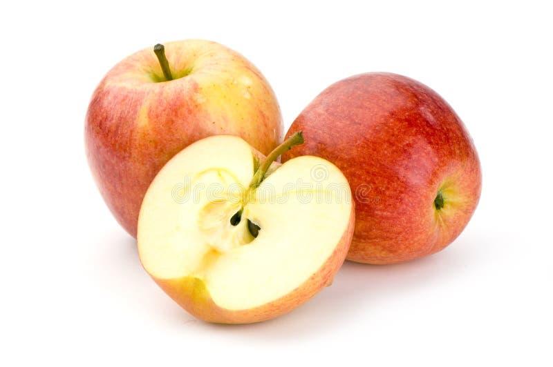 яблоки закрывают вверх стоковые фото