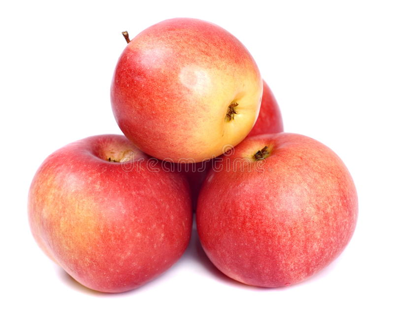 Download яблоки красные стоковое изображение. изображение насчитывающей плодоовощ - 18391621