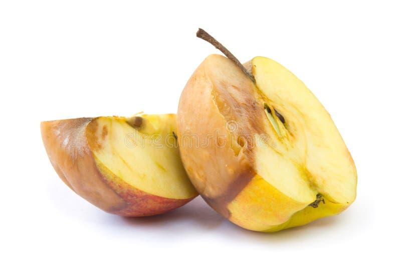 яблоко тухлое стоковые изображения rf