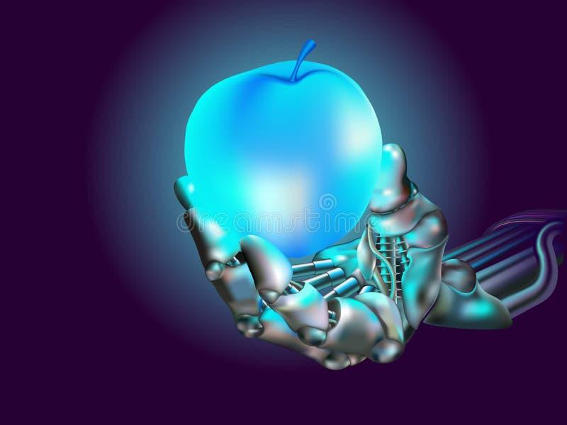 яблоко иллюстрация вектора