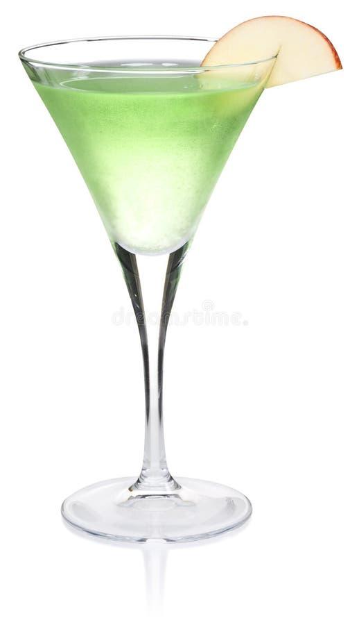 яблоко martini стоковое изображение rf