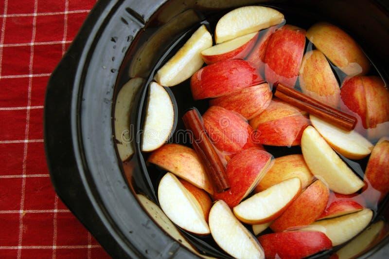 Яблочный сидр домодельный стоковые фото