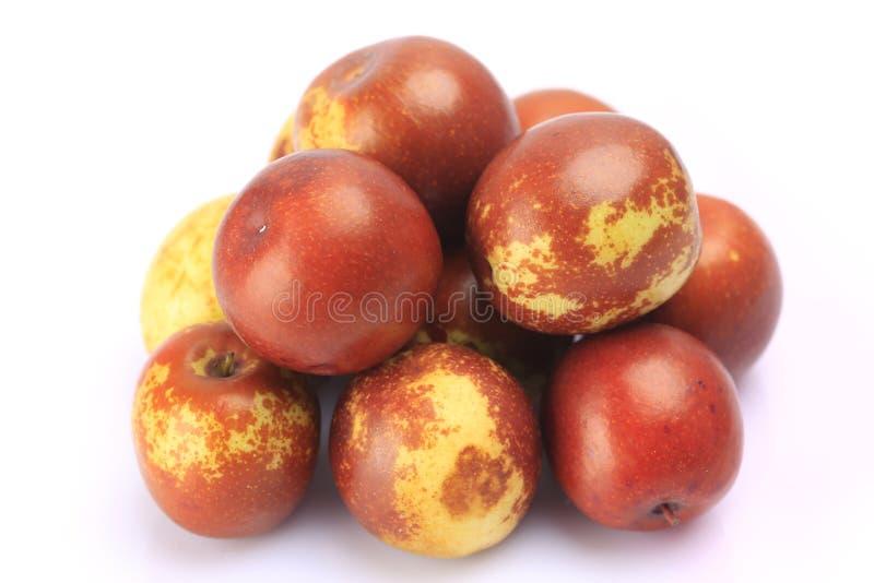 Яблочный фрукт с листом стоковые изображения