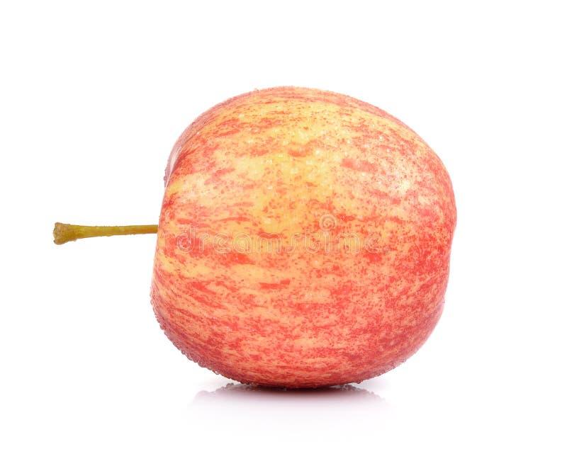 Яблоки на белой предпосылке стоковая фотография