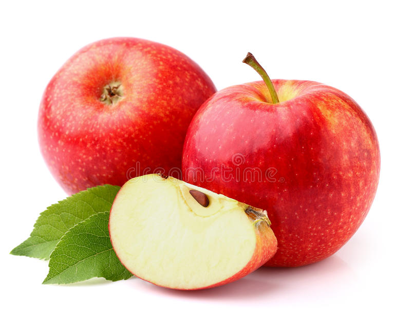 яблоки свежие стоковое изображение