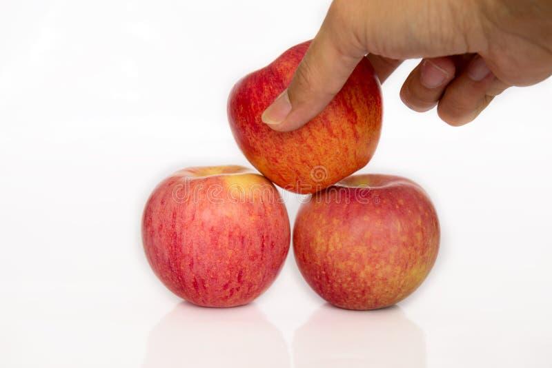 Яблоко выбора стоковая фотография
