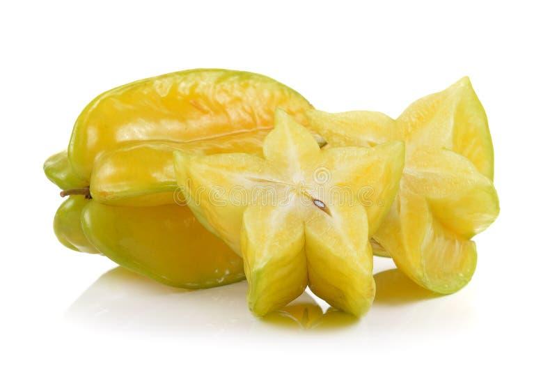 Яблоко звезды на белой предпосылке стоковая фотография
