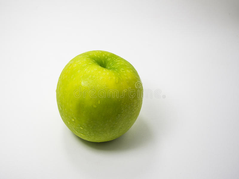 яблоко - зеленый цвет стоковая фотография rf