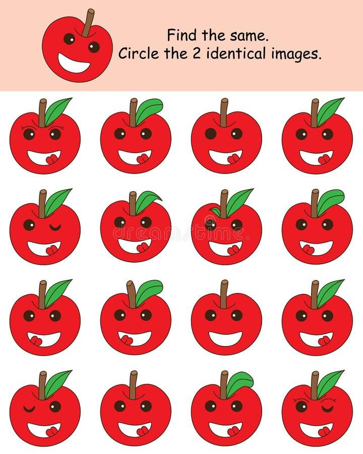Яблоко находит эти же бесплатная иллюстрация