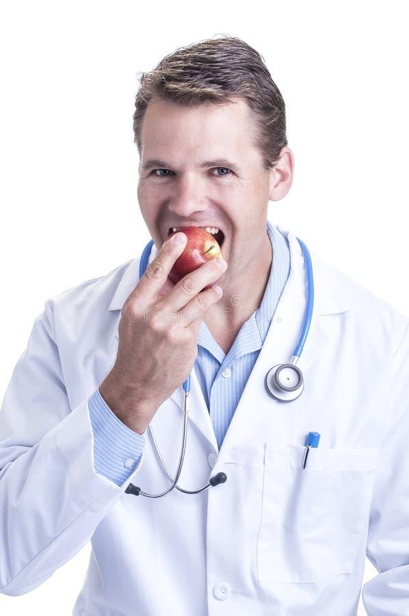 Яблоко для вашего здоровья стоковое фото