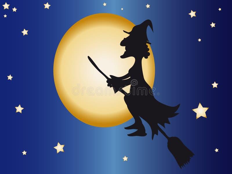 явление божества halloween иллюстрация вектора