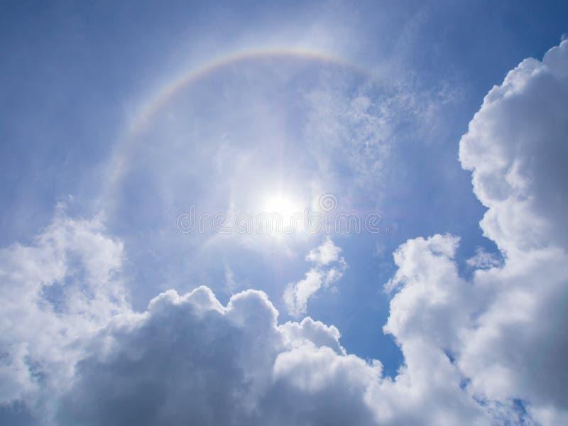 Явление, венчик солнца стоковое изображение rf