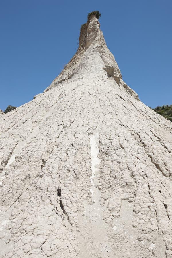 Явление Komolithi геологохимическое на Potamida в Крите Греция стоковые изображения