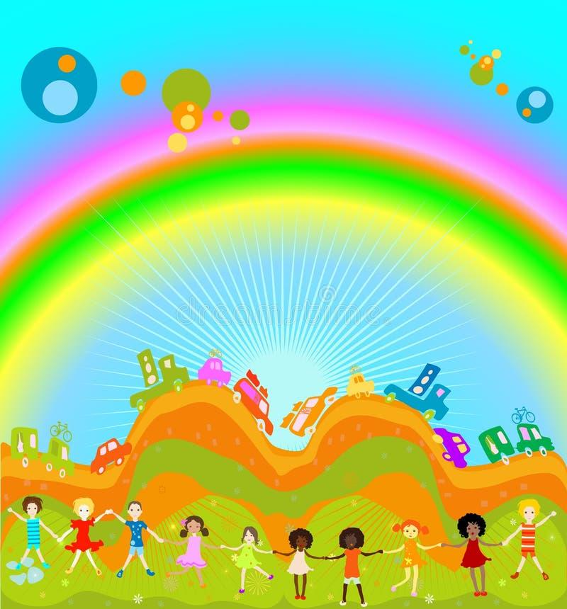 ягнит радуга бесплатная иллюстрация