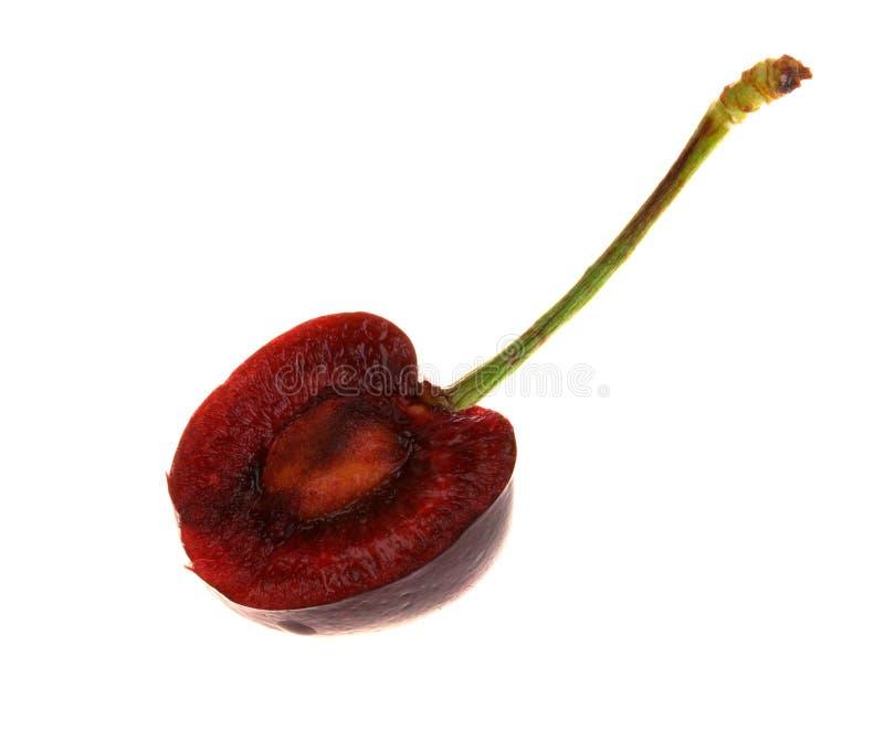 ягоды cherr помадка наполовину стоковое фото