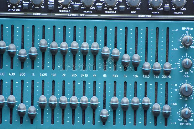 Ядровый выравниватель в студии стоковое фото rf