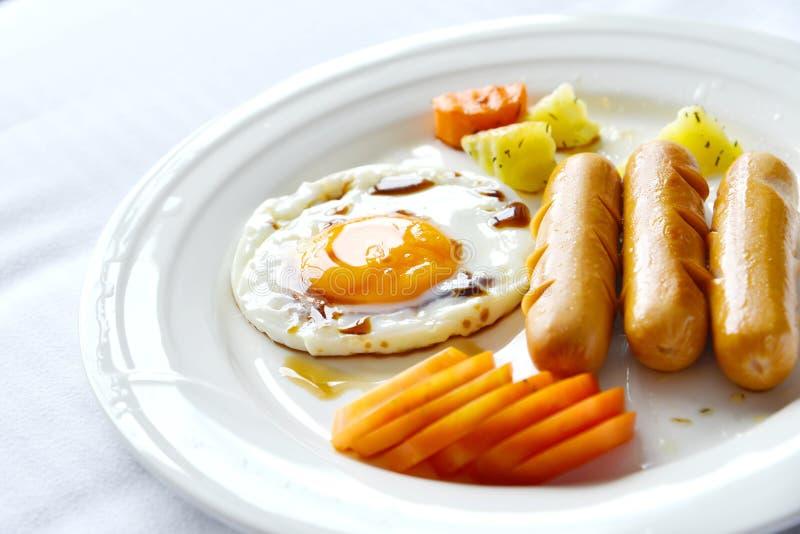 Яичка завтрака стоковая фотография rf