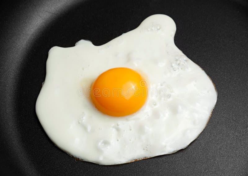 Яичко жареной курицы стоковое фото