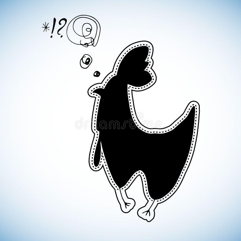 Яичко птицы ребенка иллюстрации курицы шаржа цыпленка животное милое бесплатная иллюстрация