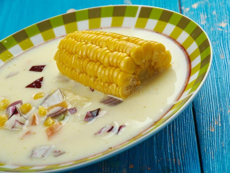 Ямайский суп мозоли стоковые изображения