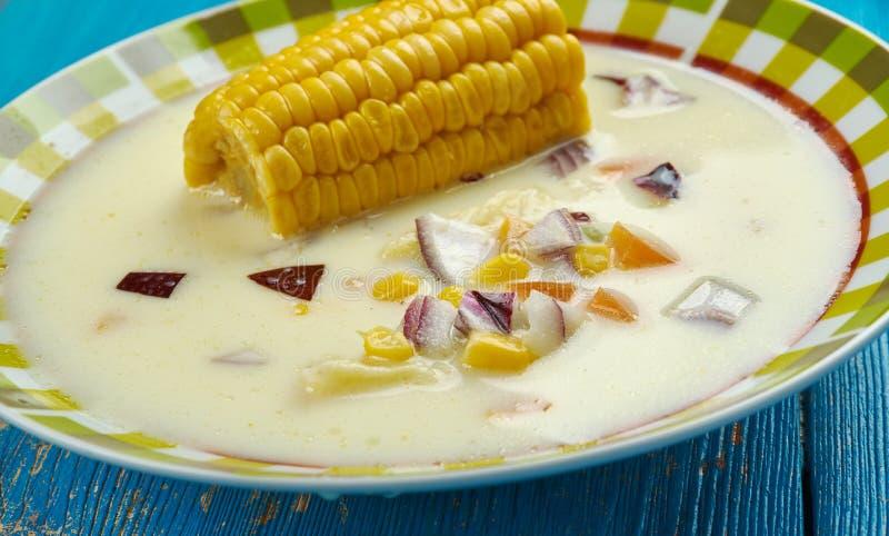 Ямайский суп мозоли стоковое изображение
