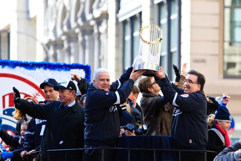 янки мира трофея серии парада стоковая фотография rf