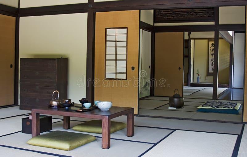 японец дома стоковое фото