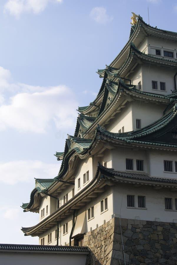японец замока стоковое фото rf