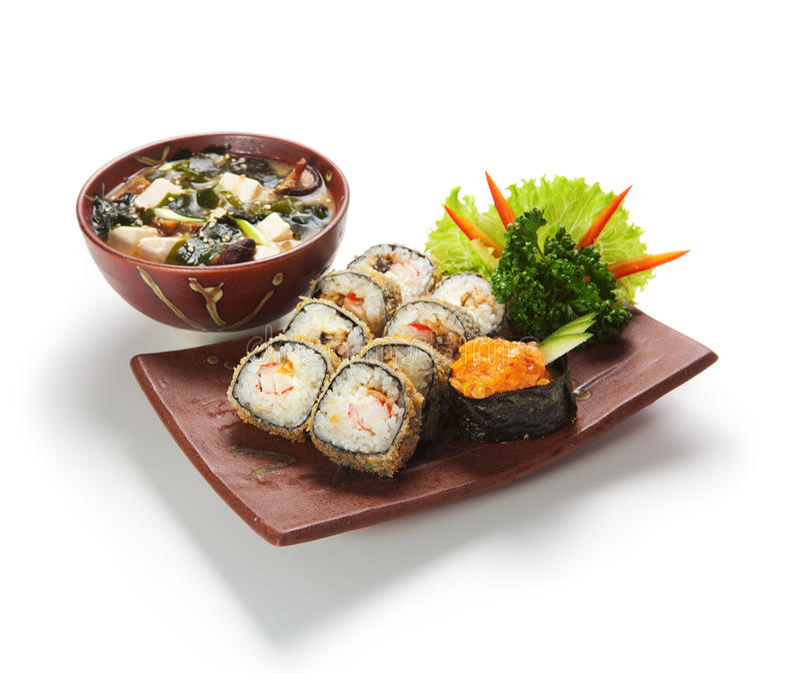 японец кухни стоковая фотография rf
