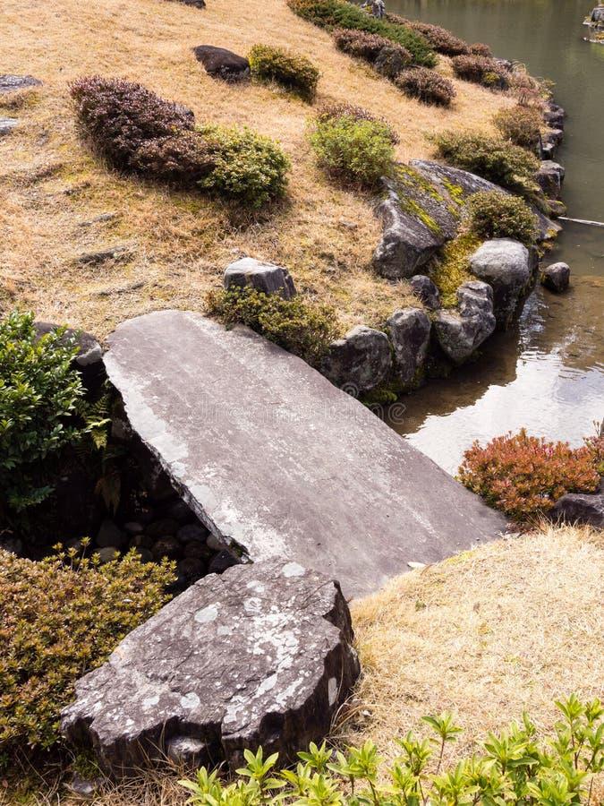 японец сада детали стоковые фотографии rf