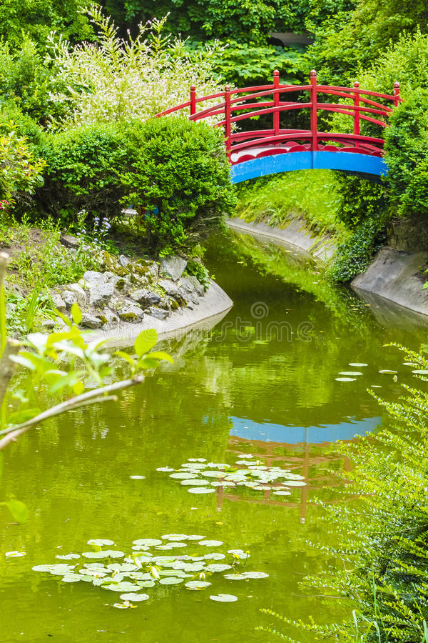 японец сада стоковые изображения rf