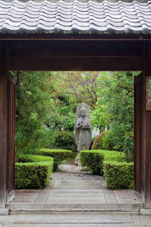 японец kyoto японии сада стоковые фотографии rf