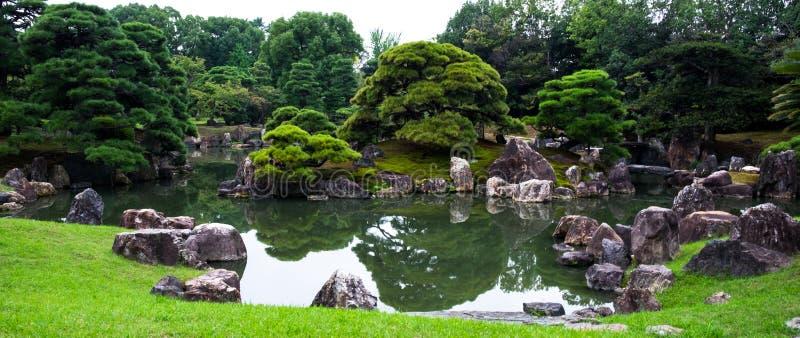 японец kyoto японии сада стоковое изображение rf