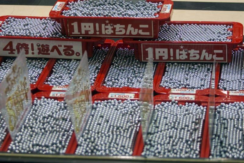 Япония - Осака - игра Патинко играя в азартные игры стоковое фото