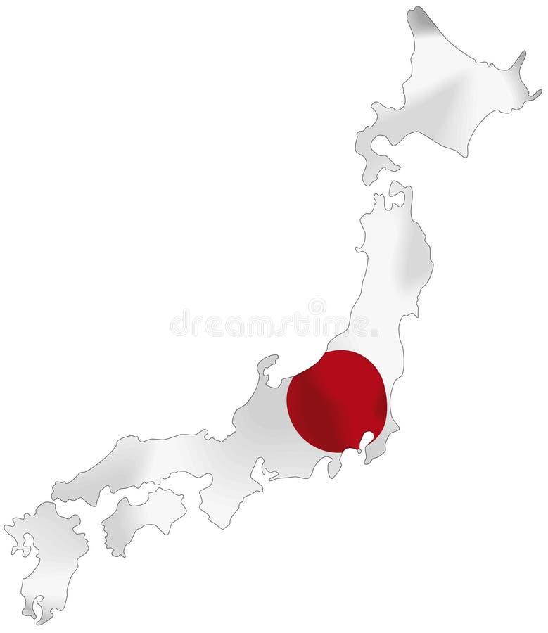 Япония иллюстрация штока