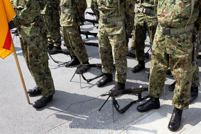 Японская военная база стоковое фото