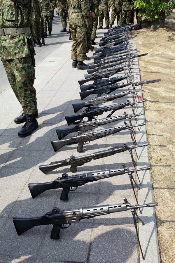 Японская воинская винтовка стоковые фото