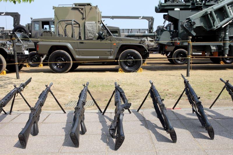 Японская воинская винтовка стоковая фотография rf