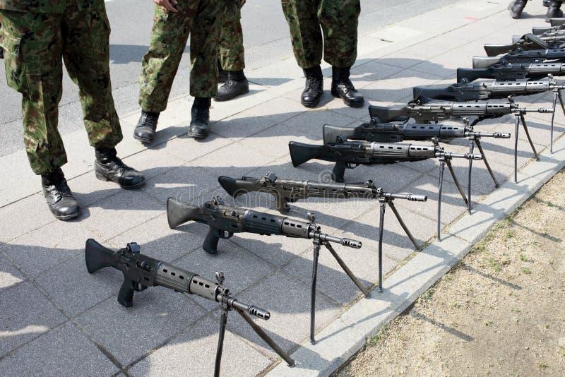 Японская воинская винтовка стоковые фотографии rf