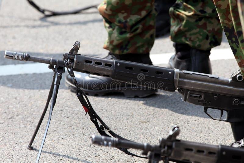 Японская воинская винтовка стоковые изображения rf
