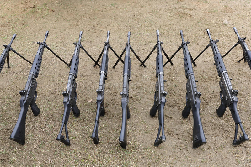 Японская воинская винтовка стоковое фото rf