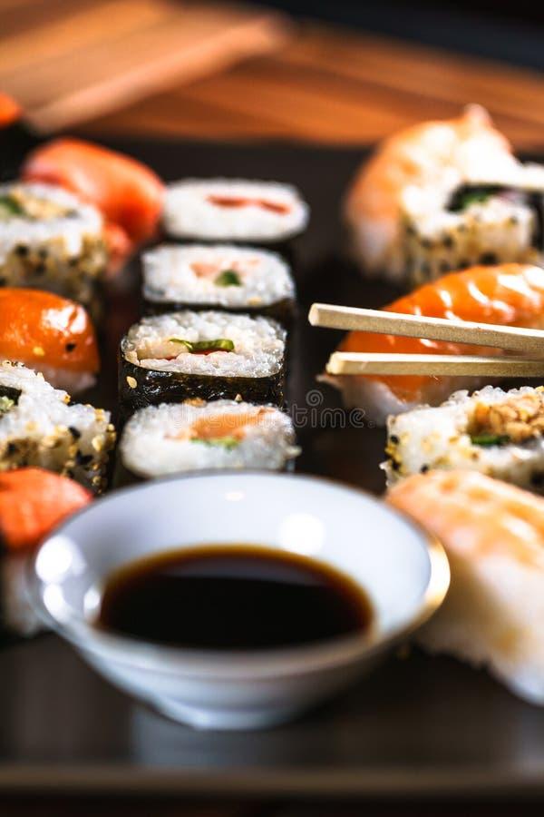 японская еда, суши стоковое фото rf