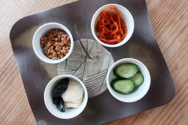 Японская заквашенная еда стоковые изображения rf